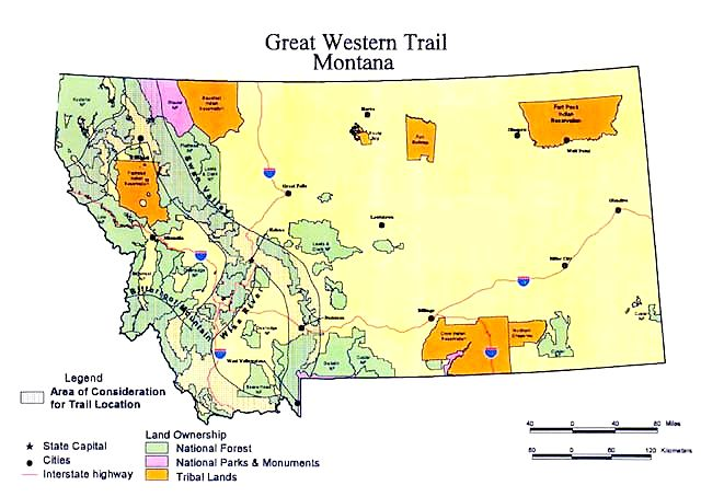 The Great Western Trail - Montana